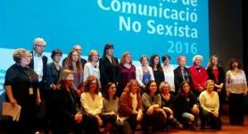 Premiades i Premiats. Premis de Comunicació no Sexista 2016